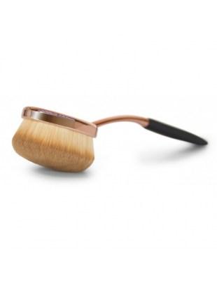 Zestaw szczotek do makijażu Professional Microfibre Oval Cosmetic Brush Collection