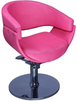 Fotel fryzjerski Ascoli 1875 - różowy