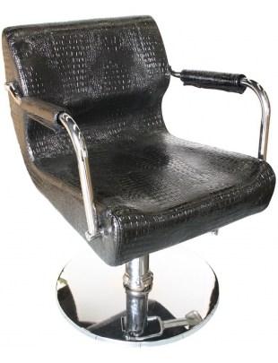 Fotel fryzjerski Finale 1878 - czarny