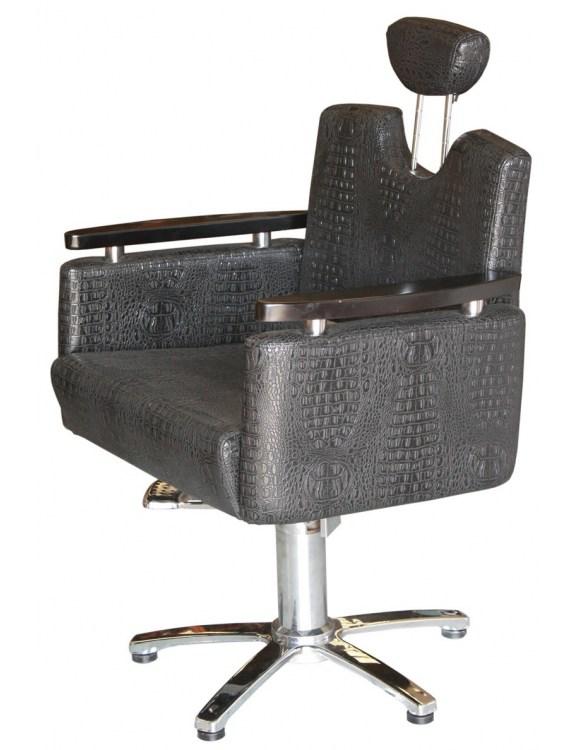 Fotel fryzjerski Figaro Siena 1874 - czarny