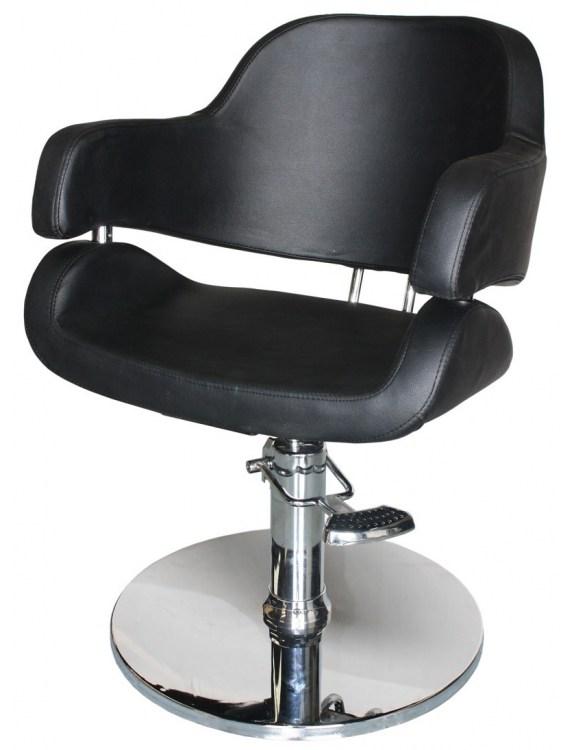 Fotel fryzjerski Vigo 1897 - czarny