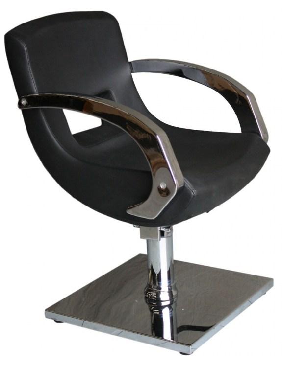 Fotel fryzjerski Gemona 1813 - czarny