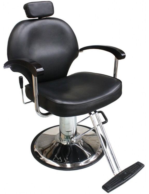 Fotel fryzjerski Carrara 1140 - czarna