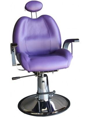 Fotel fryzjerski Modena 1144 - lila