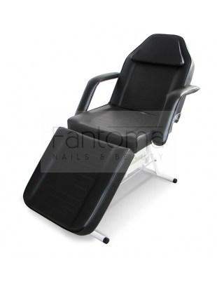 ALEX CLASSIC BLACK - Fotel kosmetyczny z kuwetami
