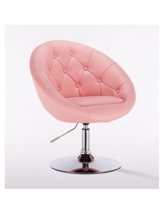 Bol - krzesło kosmetyczne różowe