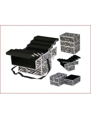 Kufer ZEBRA, BLACK CROCO