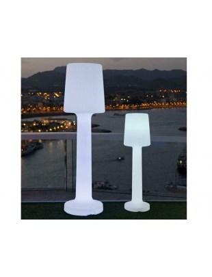 NEW GARDEN lampa ogrodowa CARMEN 165 C biała - LED