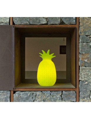 NEW GARDEN lampa stołowa SAMBA C limonka - LED