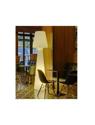 NEW GARDEN lampa podłogowa LOLA 200 biała - LED