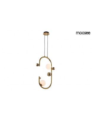 MOOSEE lampa wisząca VALENTINO - złota