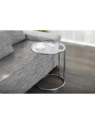 INVICTA stolik BRILANT chrom - metal, szkło