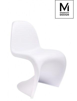 MODESTO krzesło HOVER białe - polipropylen
