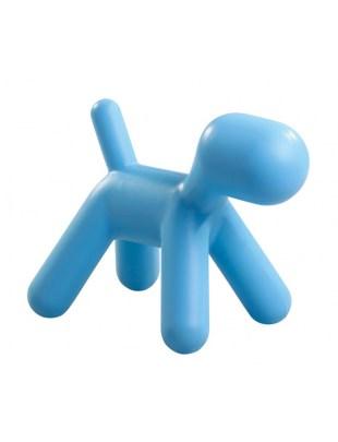 Stołek PIESEK niebieski - polipropylen