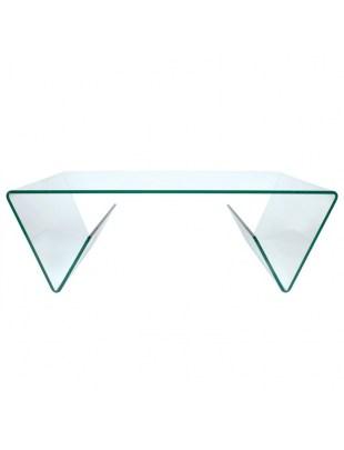 Stolik szklany MANOR transparentny - szkło