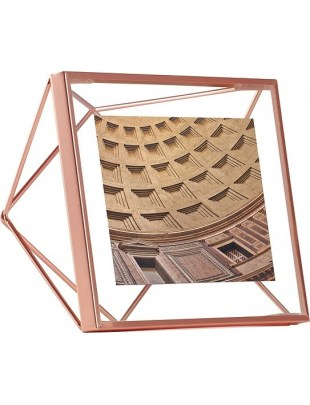 UMBRA ramka na zdjęcia PRISMA 10x10 cm - miedziana