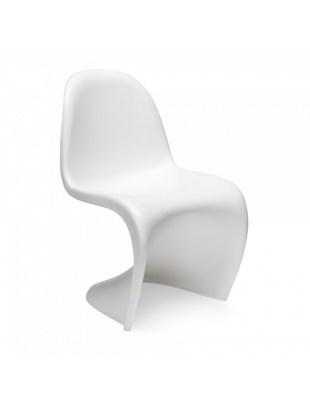 Krzesło HOVER białe - polipropylen