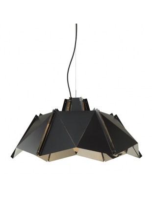 Lampa wisząca ORIGAMI 45 czarna - metal