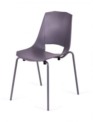 Krzesło EVVA szare polipropylen