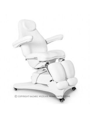 Fotel kosmetyczny QUEEN obrotowy z podgrzewaniem - podologiczny