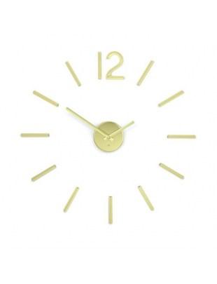 UMBRA zegar BLINK - mosiądz