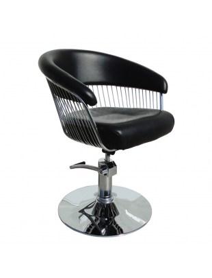 Fotel fryzjerski GRAND LUX czarny