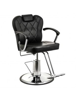 Fotel fryzjerski SAVONA czarny