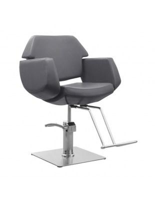 Fotel fryzjerski IMPERIA grafit