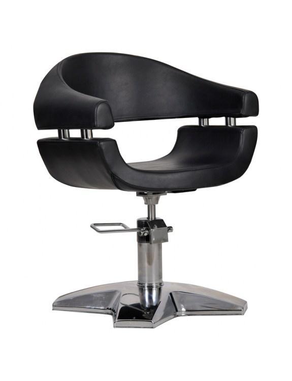 Fotel fryzjeski GAMMA czarny