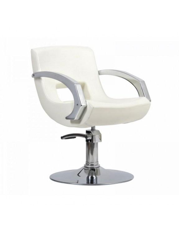 Fotel fryzjerski Roma ecri - beż