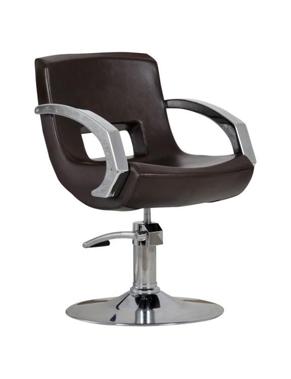 Fotel Roma brązowy