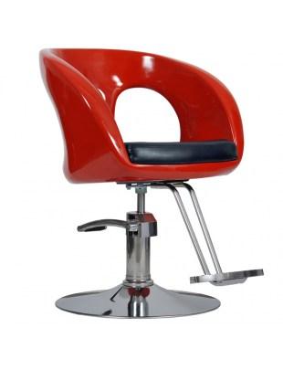 Fotel Ovo czerwony