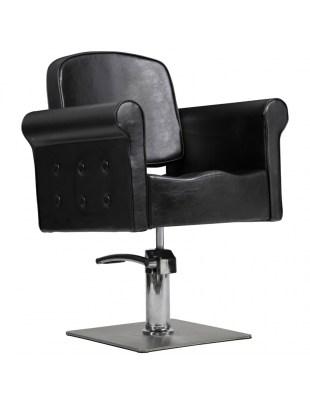 Fotel fryzjerski Miami czarny