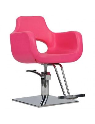 Fotel Mediolan - różowy