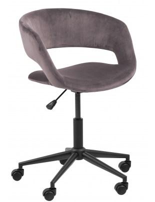 Fotel biurowy na kółkach Grace VIC dusty rose