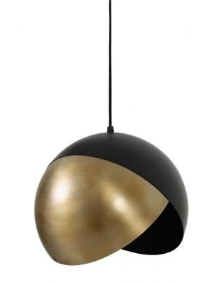 Lampa wisząca Namco 25 czarna/antyczny brąz
