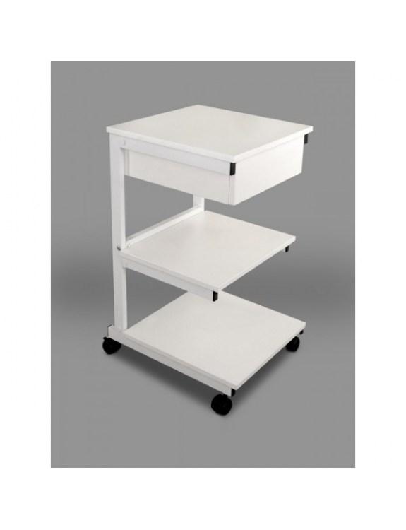Model aluminiowy: III półki + szuflada