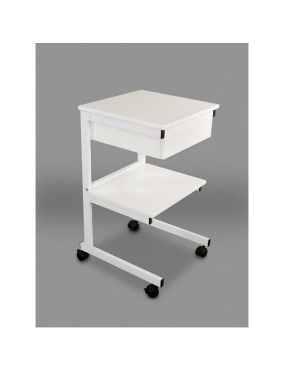Model aluminiowy: II półki + szuflada