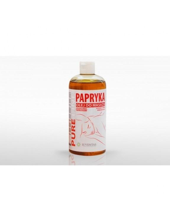 Olej do masażu PURE LINE - PAPRYKA (500 ml)