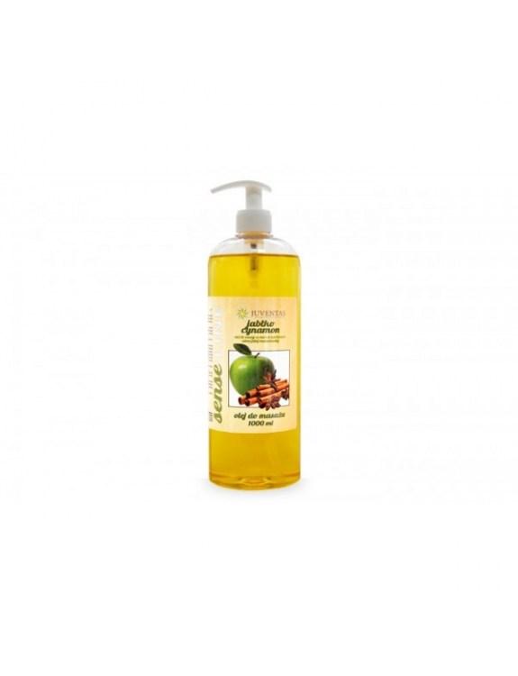 Olej do masażu SENSE LINE - JABŁKO-CYNAMON (1000 ml)