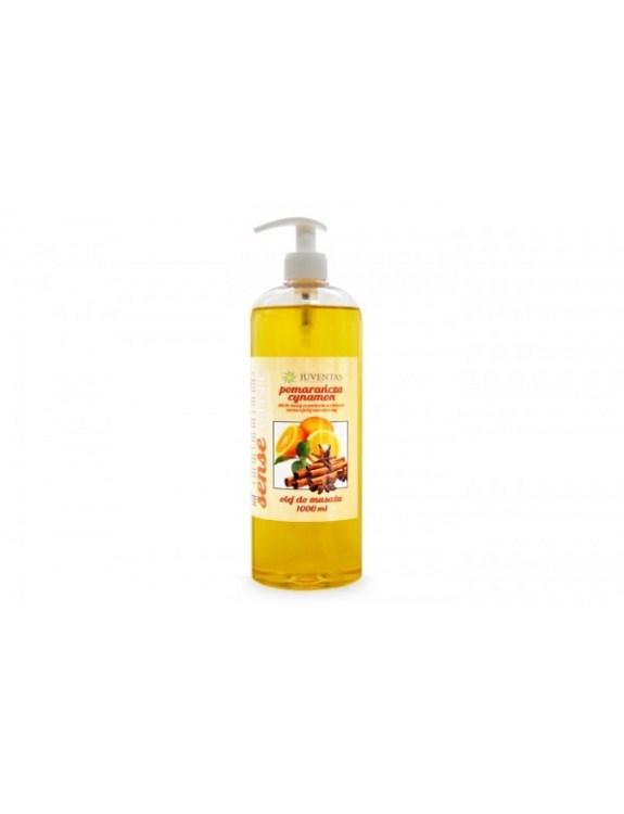 Olej do masażu SENSE LINE - POMARAŃCZA-CYNAMON (1000 ml)