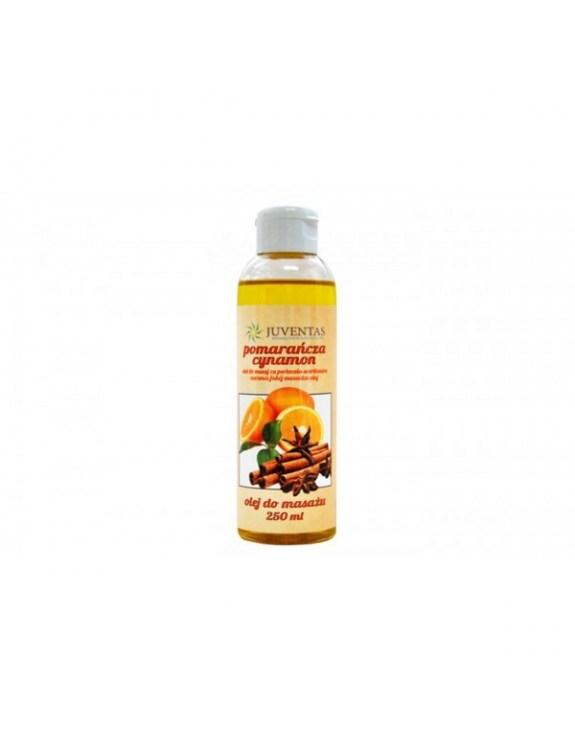 Olej do masażu SENSE LINE - POMARAŃCZA-CYNAMON (250 ml)