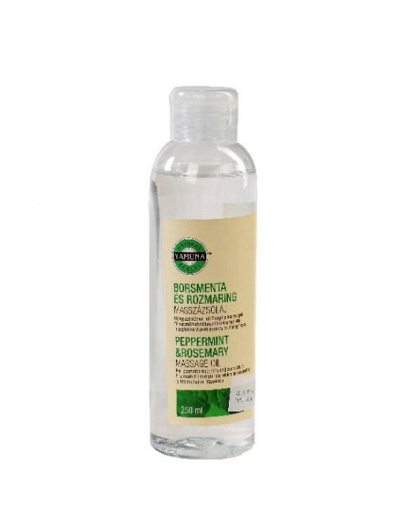Olej do masażu z ekstraktem z mięty i rozmarynu - 250 ml
