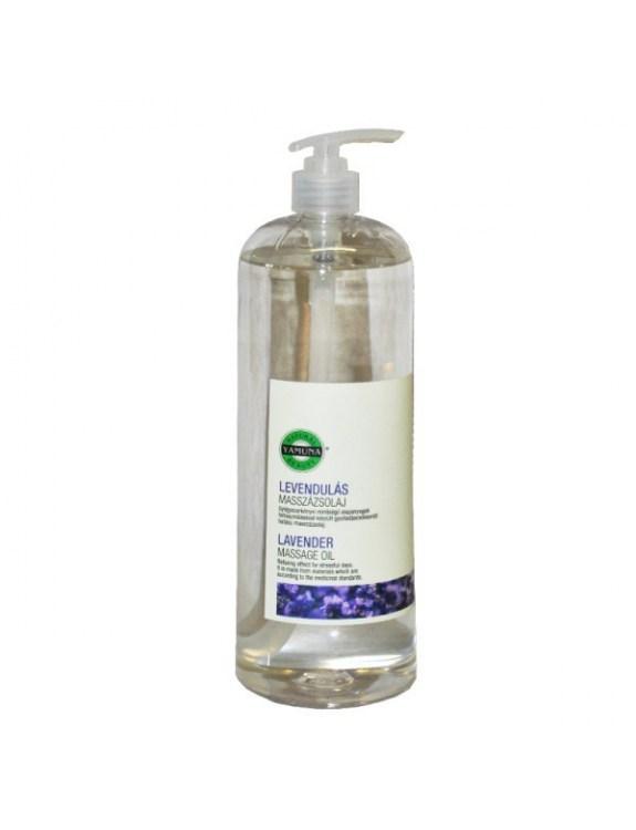 Olej do masażu z ekstraktem z lawendy - 1000 ml