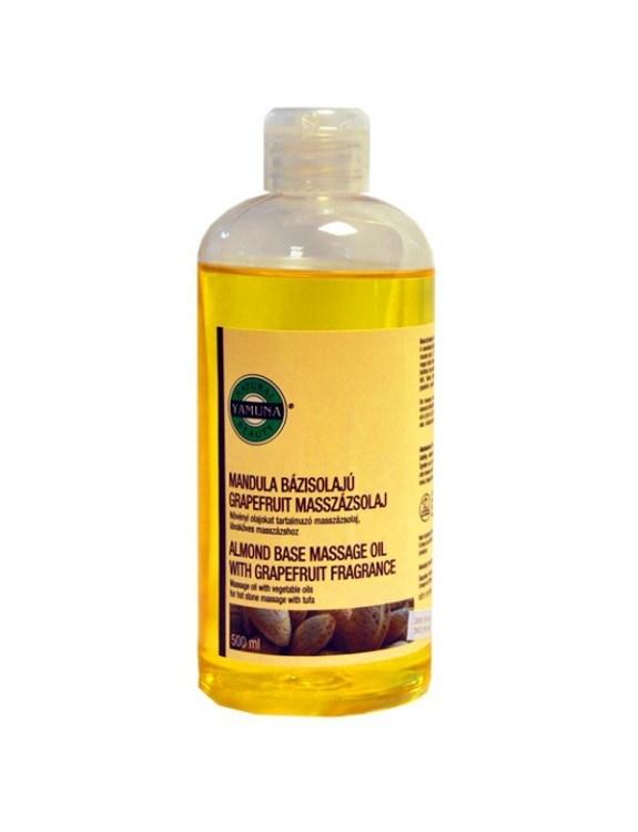 Olej do masażu z ekstraktem z migdałów i grejpfruta - 500 ml