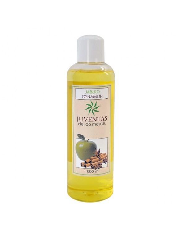 Olej do masażu z ekstraktem z jabłka i cynamonu - 1000 ml