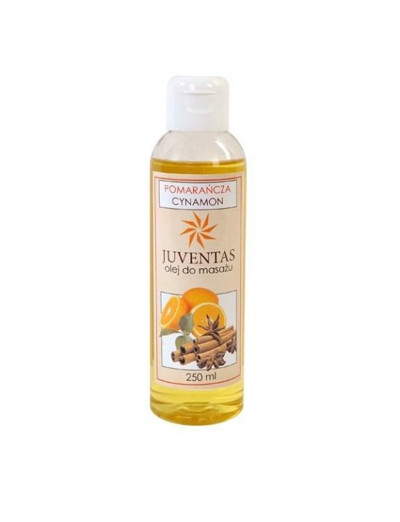 Olej do masażu z ekstraktem z pomarańcza i cynamonu - 250 ml