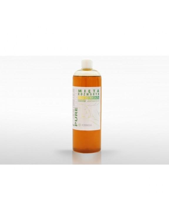 Olej do masażu PURE LINE - MIĘTA-ROZMATYN (1000 ml)