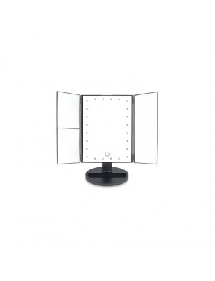 24 LED TOUCH DIMMABLE MAKEUP MIRROR (2X & 3x) - MMFD