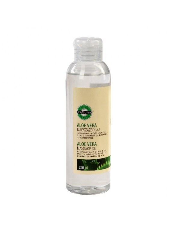 Olej do masażu z ekstraktem z aloesu - 250 ml